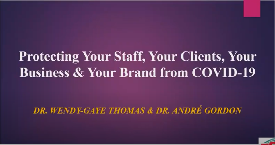 Protect Your Clients, Business & your Brand from COVID-19